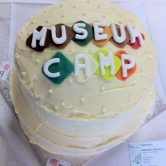 Museumcamp cake