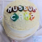 Museumcamp cake