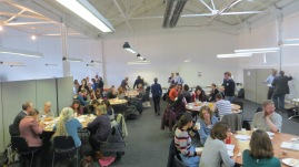 Lunchtime at Museumcamp