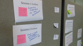 Sessions, times and rooms for Musuemcamp