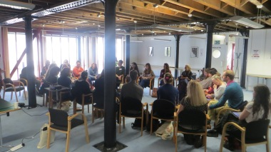 Museumcamp session, large group